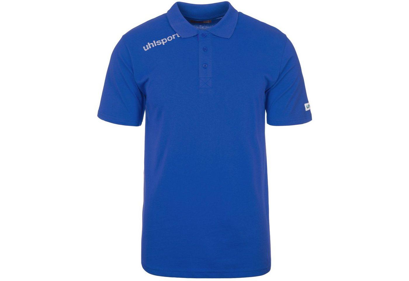 Uhlsport Essential Polo Shirt Herren | Sportbekleidung > Sportshirts > Poloshirts | Blau | Baumwolle | Uhlsport