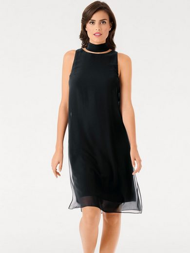 ASHLEY BROOKE by Heine Cocktailkleid Jersey mit Chiffon