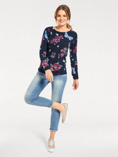 Bc Best Connections By Heine Print Pullover With Jeans