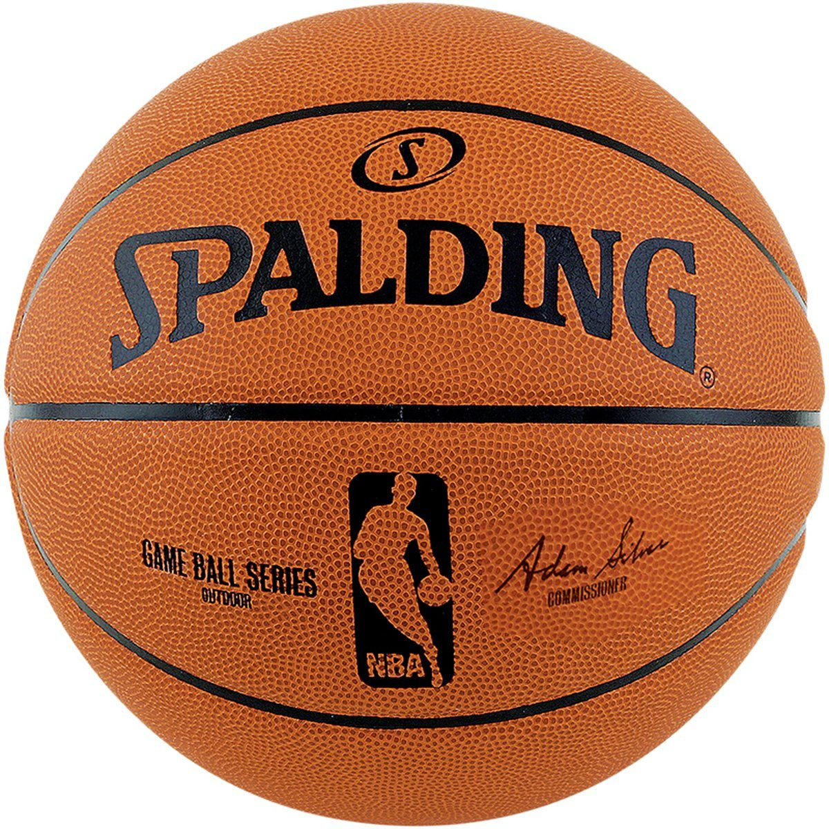 SPALDING NBA Gameball Replica Outdoor Basketball