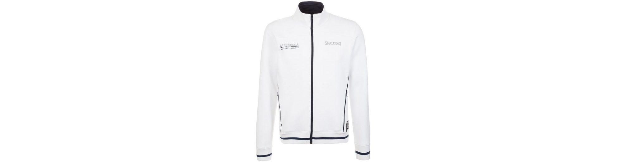 SPALDING Team Zipper Trainingsjacke Herren Auslass-Angebote WX7rGJdhw