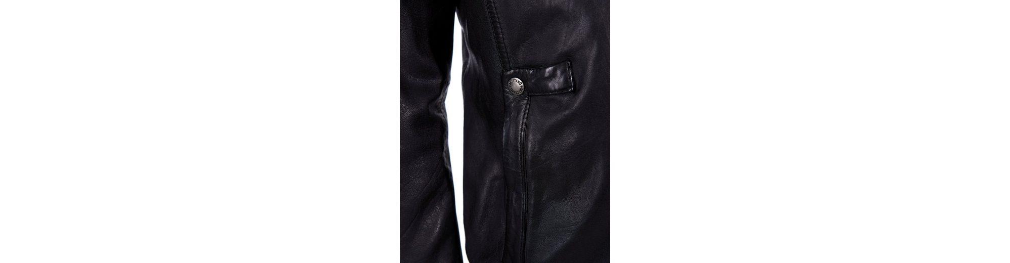 Mustang Lederjacke Robson Hochwertige Billig Verkauf Online-Shop Günstige Austrittsstellen Neue Und Mode Billig Verkaufen Authentisch sMPCOdQv58