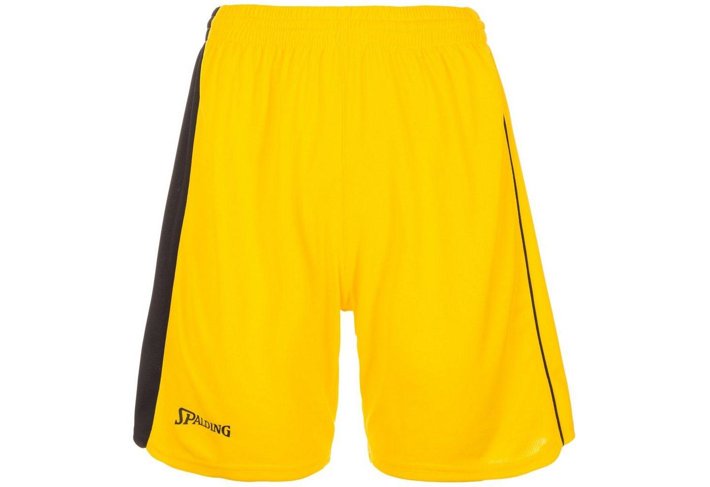 Spalding 4her II Basketballshort Damen   Sportbekleidung > Sporthosen > Basketballshorts   Gelb   Polyester   Spalding
