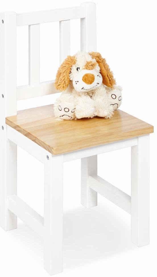 Pinolino® Stuhl »Fenna weiß/natur«, für Kinder