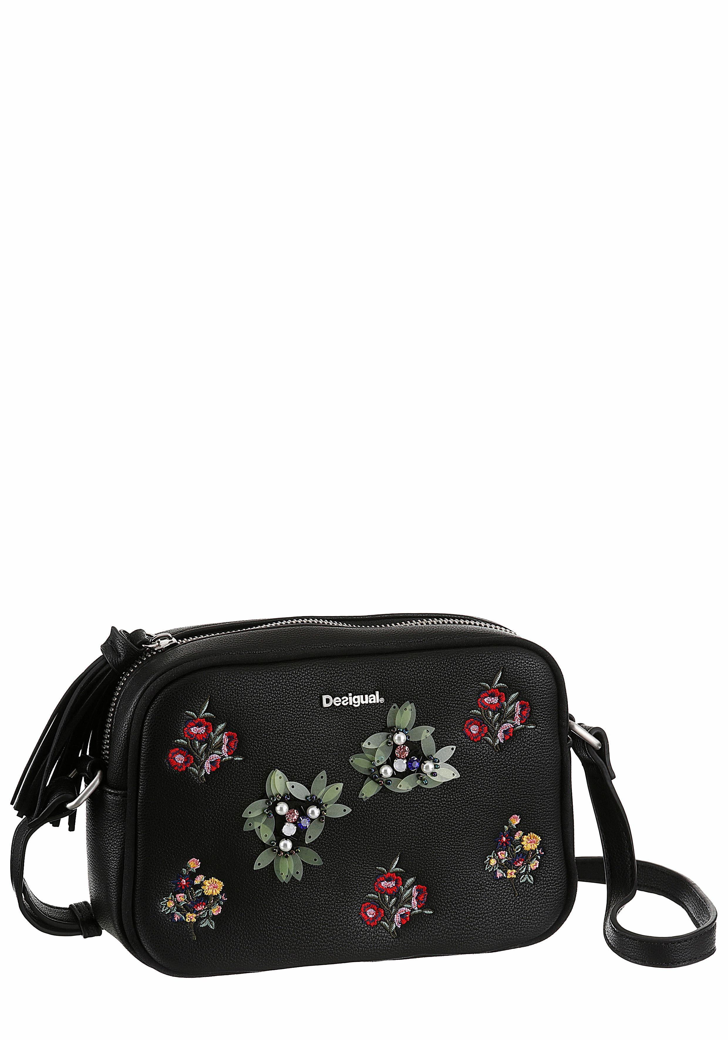 Desigual Umhängetasche »BACARDI CHARLOTTE«, mit modischer Blumenapplikation