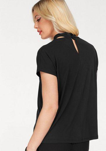 Only T-Shirt MILI, mit Choker