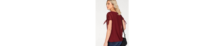 Vero Moda Shirtbluse RAYA, mit Schleifen an den Ärmeln