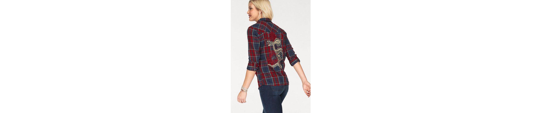 Only Hemdbluse SOLIN, mit Stickerei am Rücken