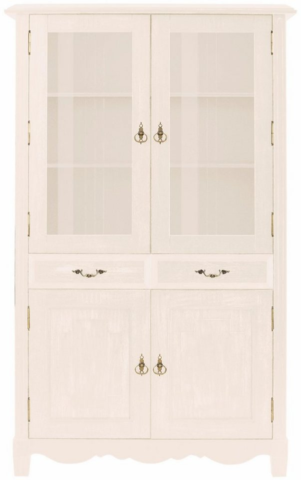 home affaire vitrine eden breite 180 cm mit soft close. Black Bedroom Furniture Sets. Home Design Ideas