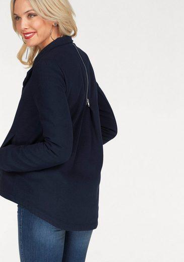 Melrose Kurzjacke, mit Zier-Zipper am Rücken