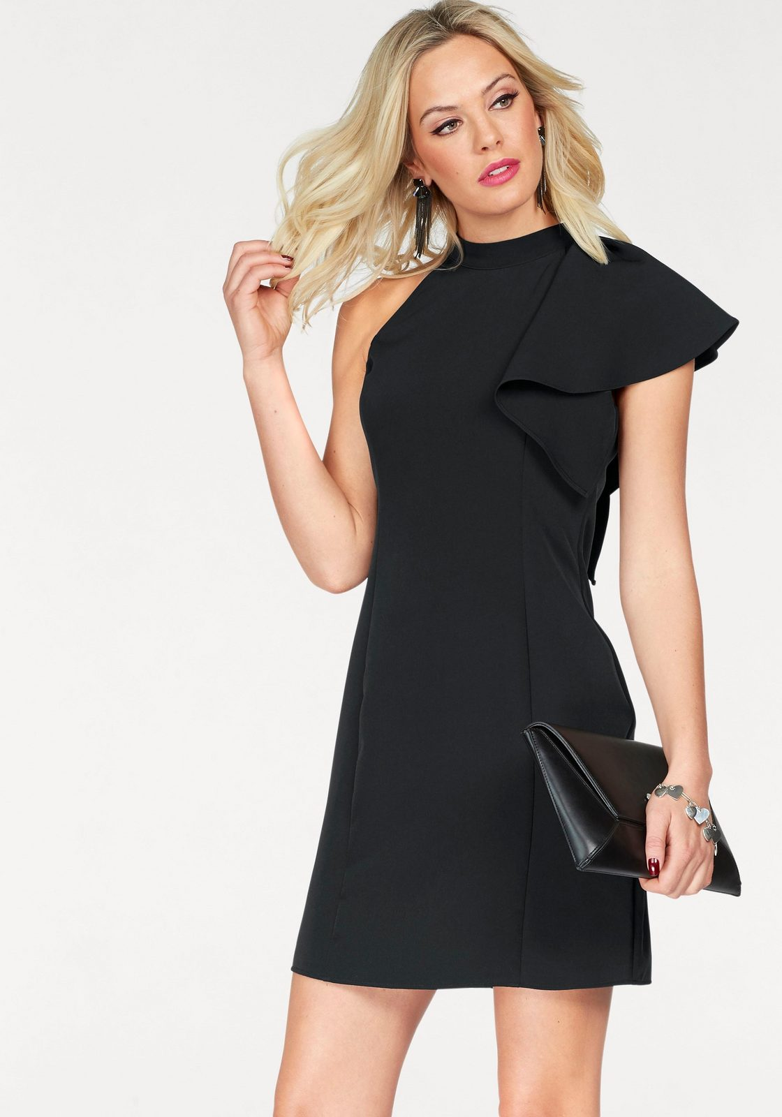 Vero Moda One-Shoulder-Kleid »JINKS«, mit Volant