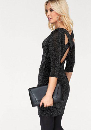 Vero Moda Strickkleid SHINE, mit gekreuztem Rückenausschnitt