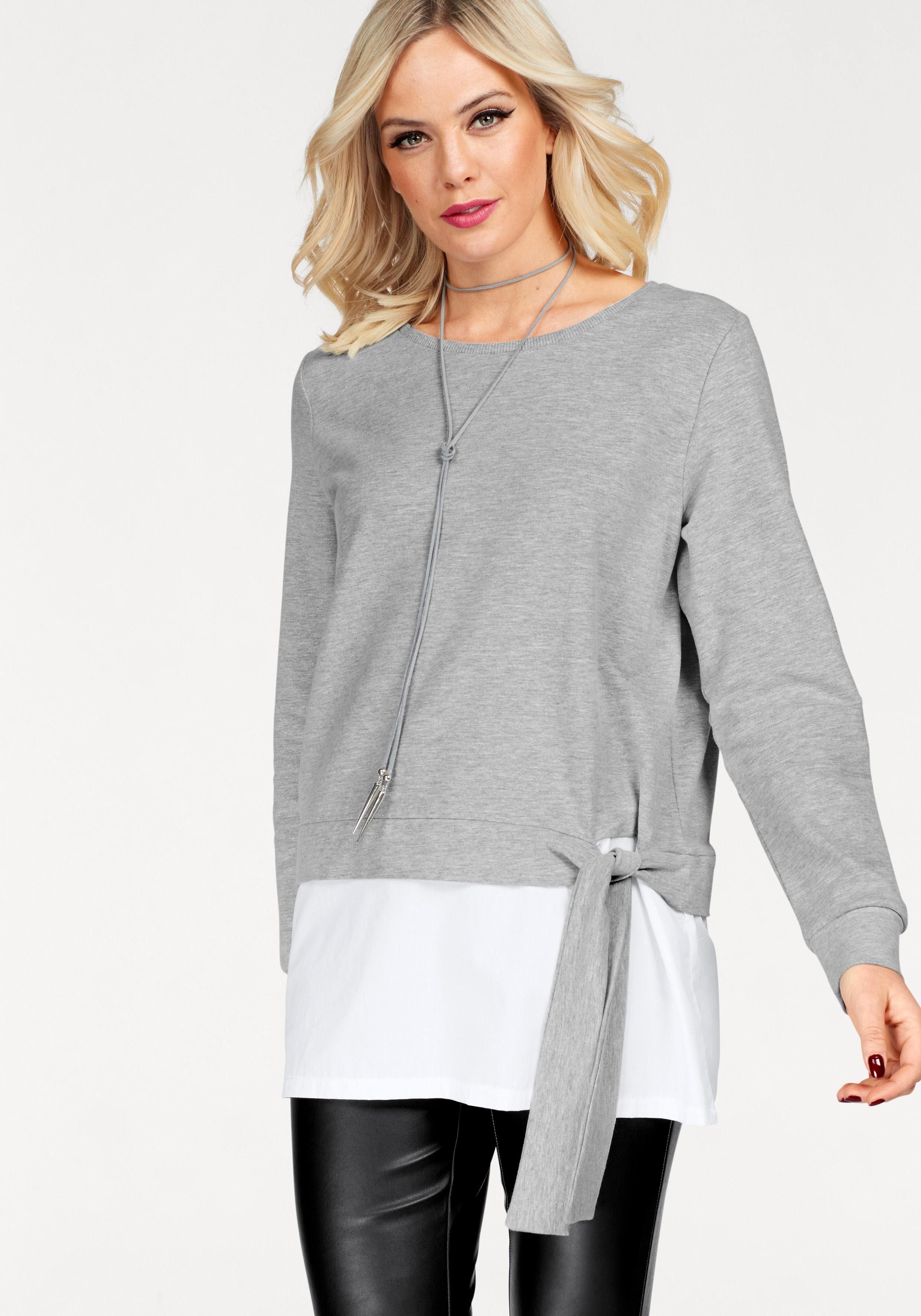 Only Sweatshirt »ANCONA« 2 in 1 Optik