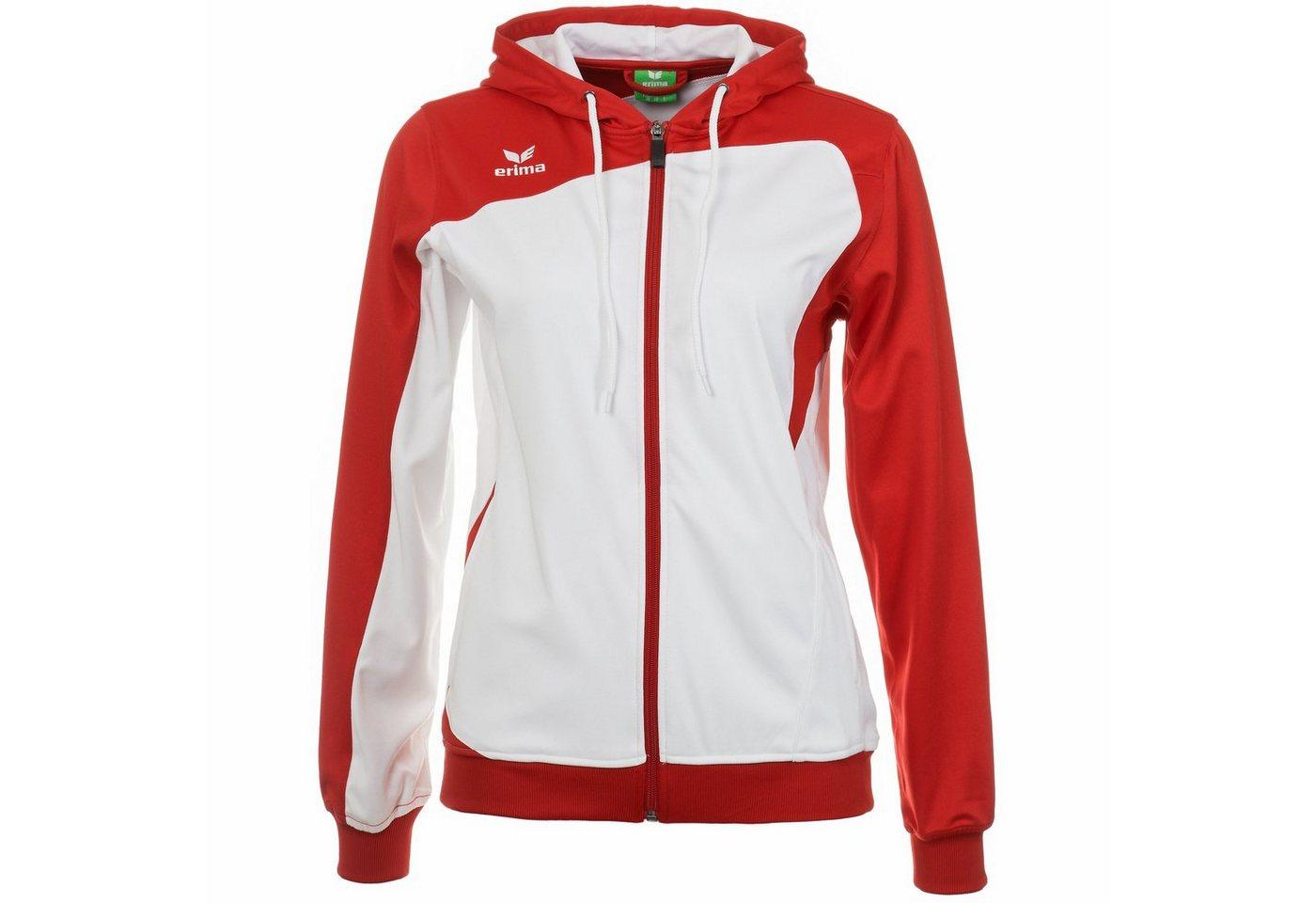 Erima Club 1900 Trainingsjacke mit Kapuze Damen | Sportbekleidung > Sportjacken > Trainingsjacken | Weiß | Polyester | Erima