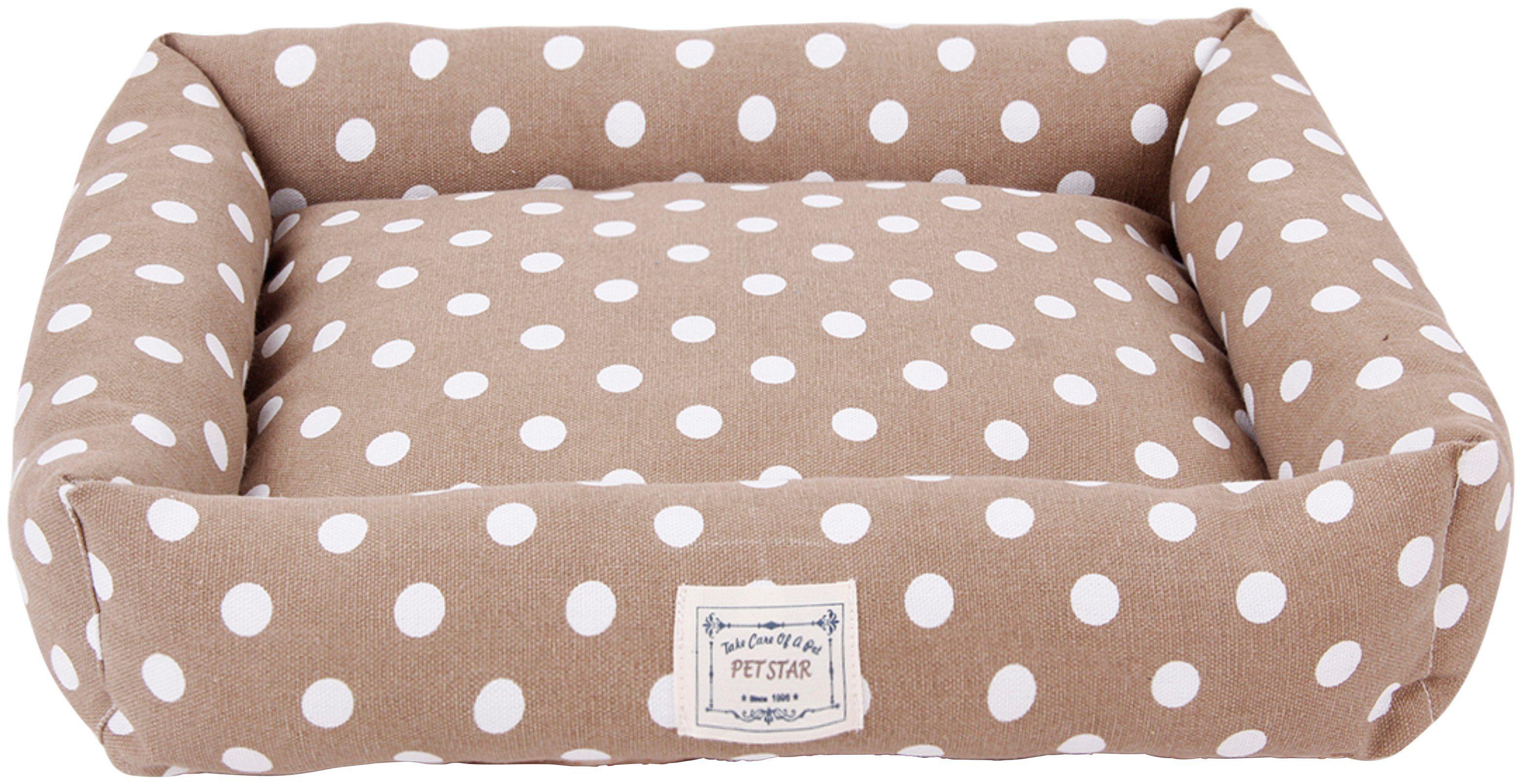HEIM Hundebett und Katzenbett »Dots«, Pastellfarben, BxT: 42x48 cm