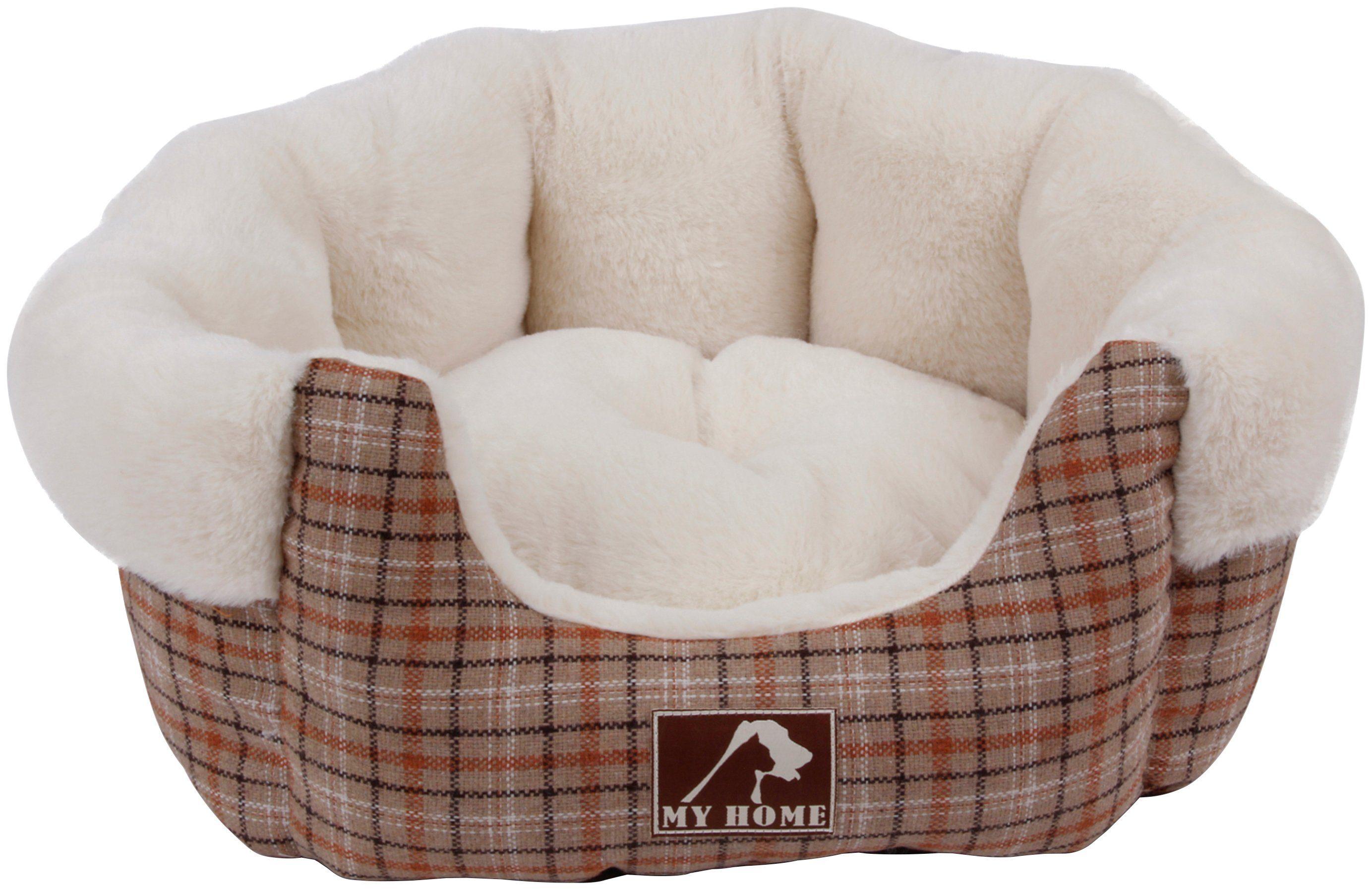 HEIM Hundebett und Katzenbett »Classic«, beige, BxT: 62x72 cm