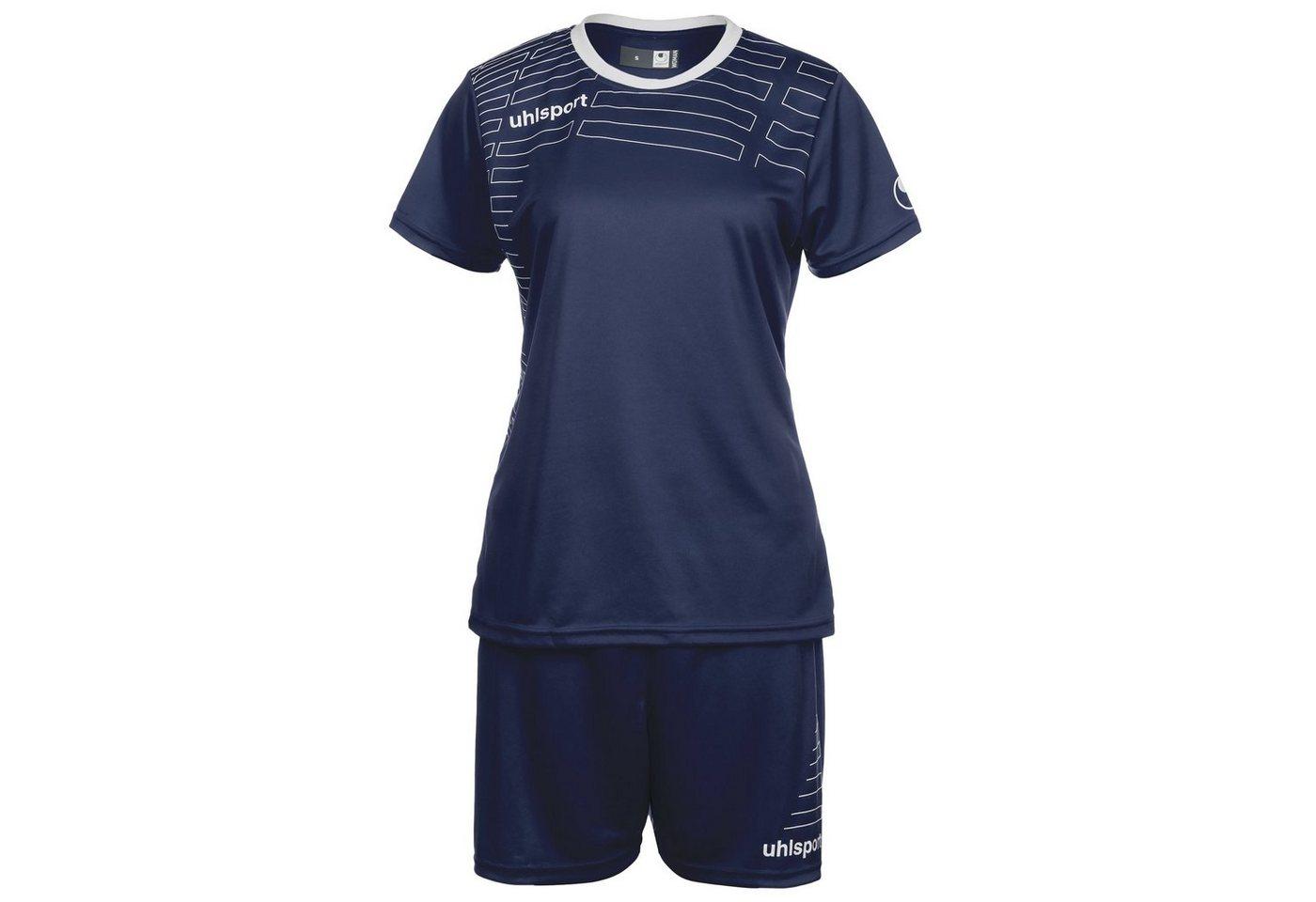 Uhlsport Match Team Kit Shortsleeve Damen   Sportbekleidung > Sporthosen > Sportshorts   Blau   Uhlsport