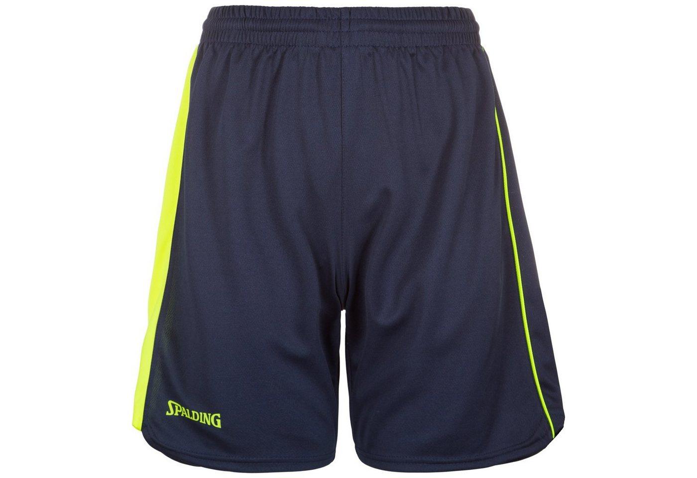 Spalding 4her II Basketballshort Damen | Sportbekleidung > Sporthosen > Basketballshorts | Blau | Spalding