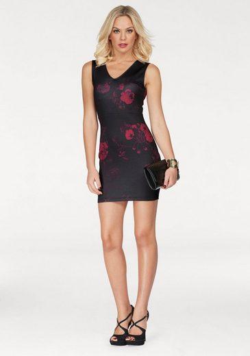 Melrose Jerseykleid, mit Rosen-Print