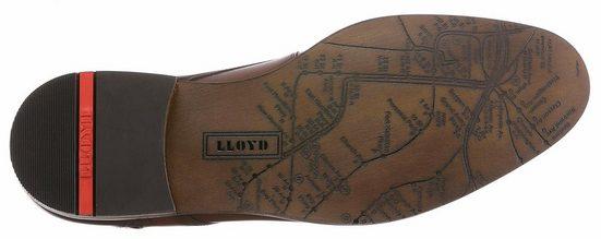 Lloyd Henley Schnürschuh, mit modischem Finish