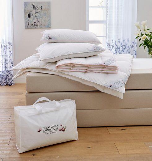 Daunenbettdecke, »Magnolia«, Guido Maria Kretschmer Home&Living, normal, Füllung: 100% Daunen, Bezug: 100% Baumwolle, (1-tlg)