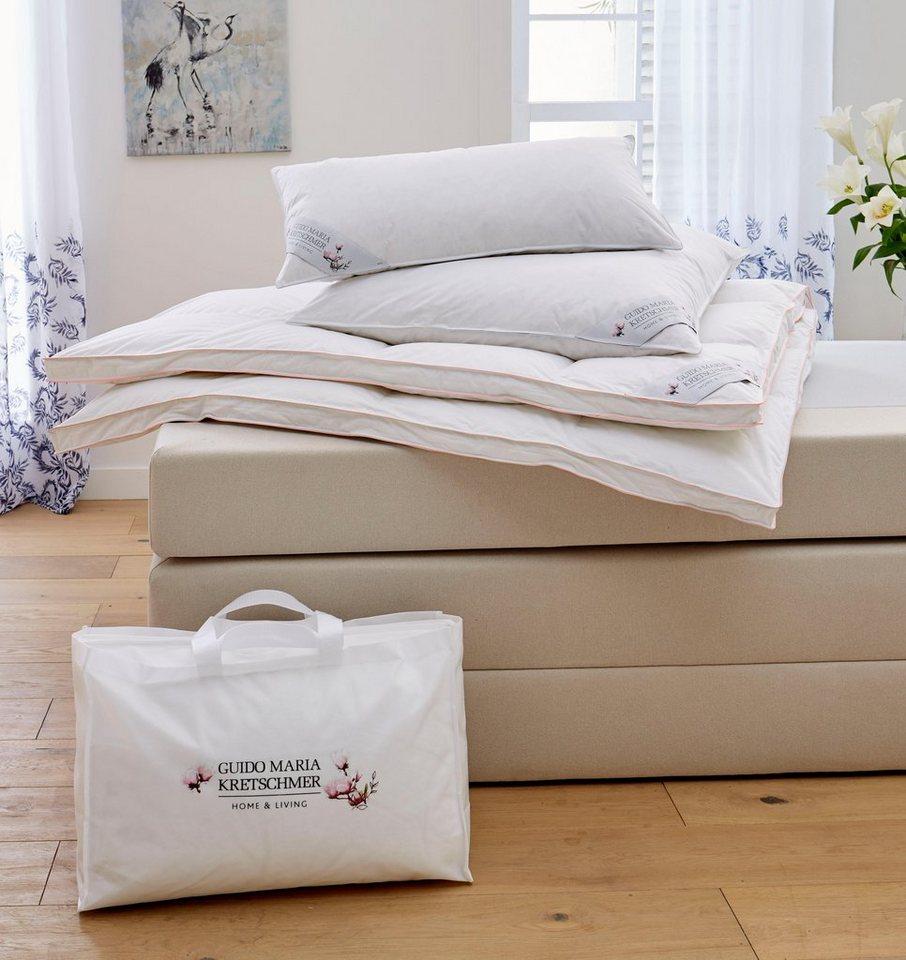 Gansedaunenbettdecke Magnolia Guido Maria Kretschmer Home Living Extrawarm Fullung 100 Gansedaunen Bezug 100 Baumwolle 1 Tlg Online