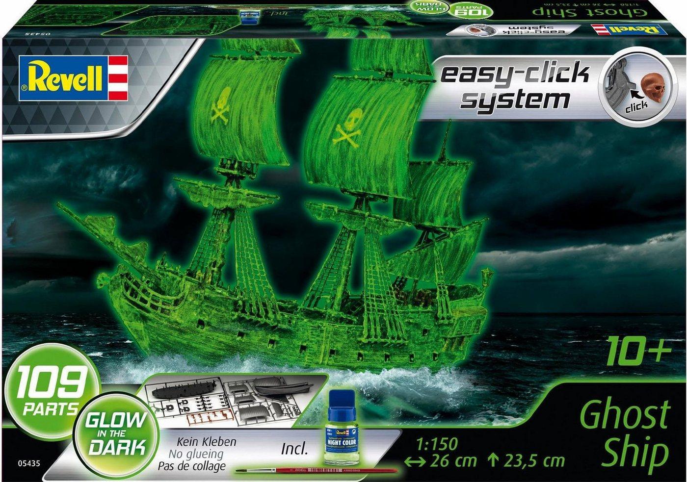 Revell Modellbausatz Schiff leuchtet im Dunkeln, »Segelschiff / Geisterschiff«