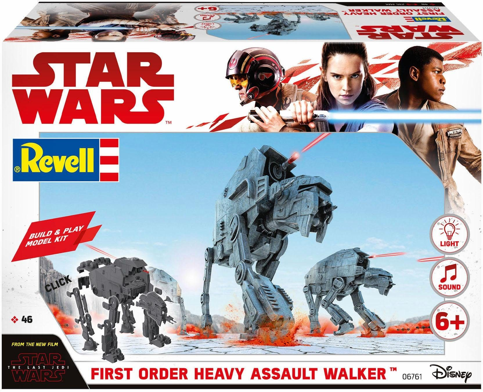 Revell Modellbausatz, »Disney Star Wars First Order Heavy Assault Walker (Build&Play)«