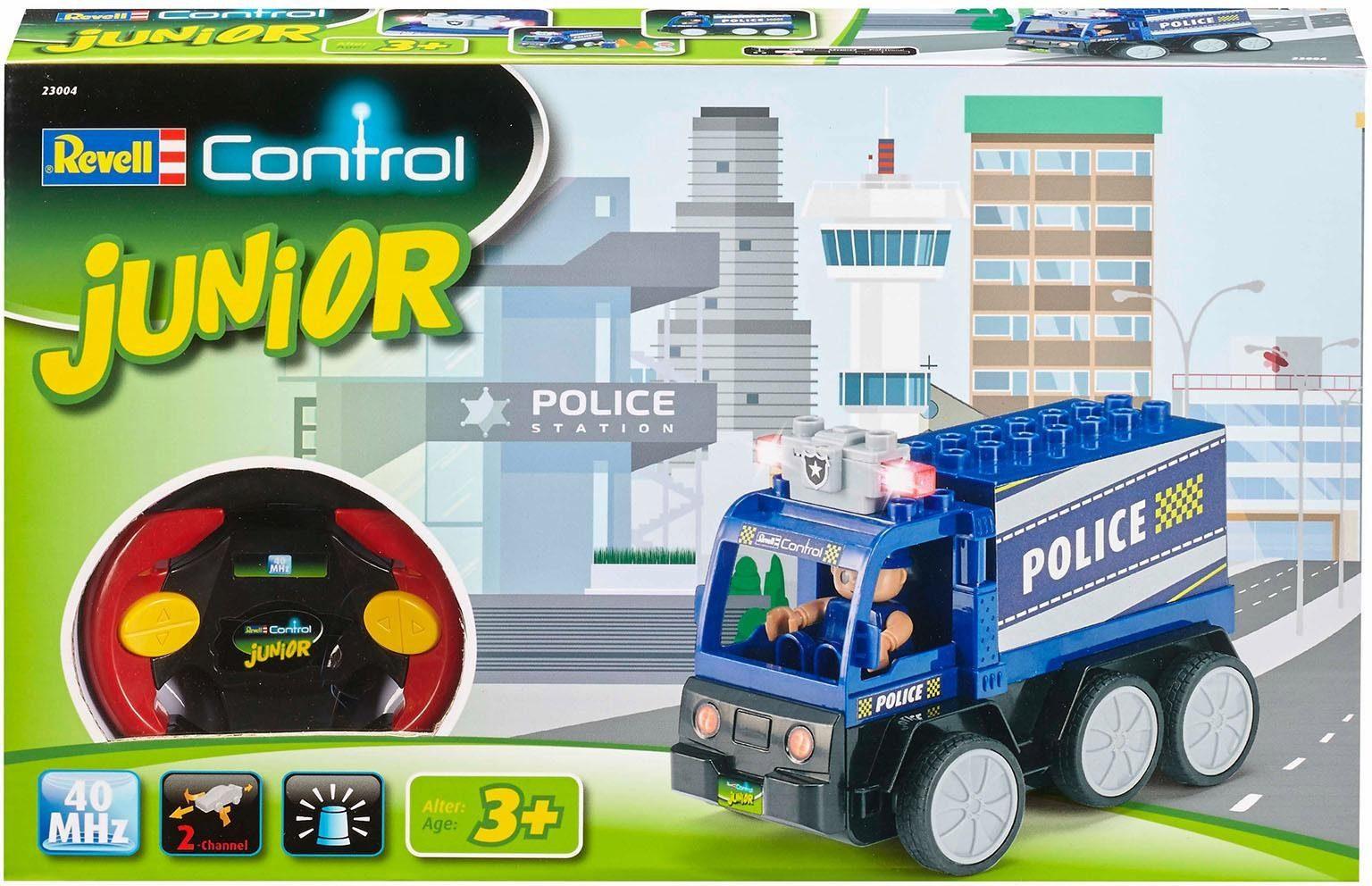 Revell RC Polizeiauto mit Blinklicht, »Revell® control, RC Junior Polizei, 40 MHz«