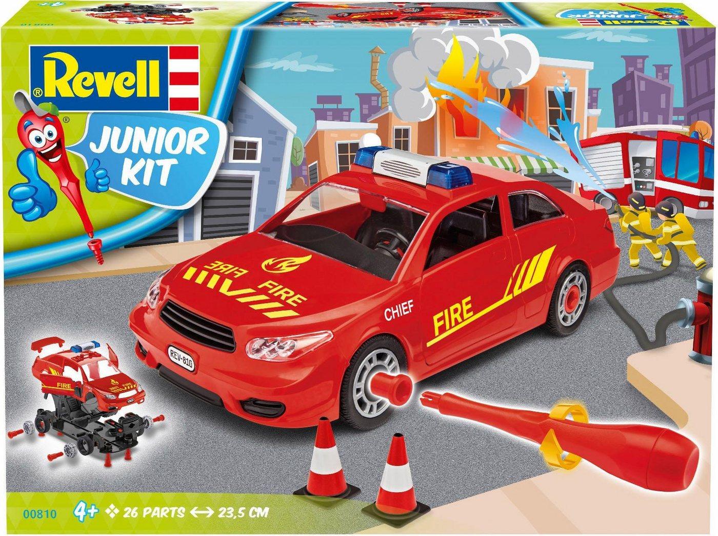 Revell Modellbausatz Auto, »Junior Kit Einsatzleitung Feuerwehr«