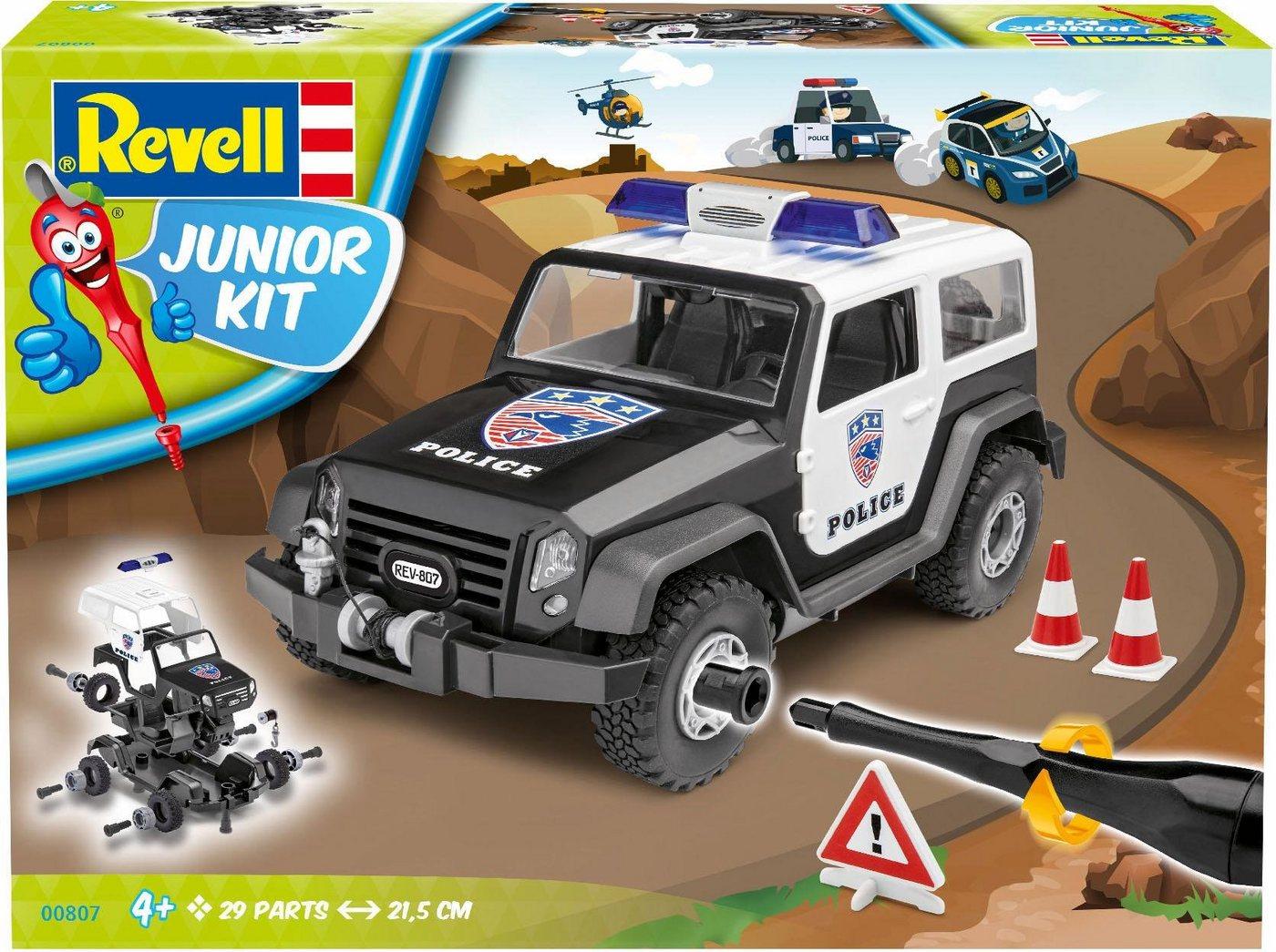 Revell Modellbausatz Auto, »Junior Kit Geländewagen Polizei«
