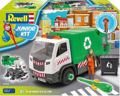 Revell Modellbausatz Auto, »Junior Kit Müllwagen mit Figur«