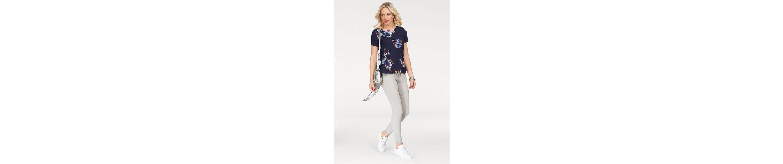 Moda mit Blumenprint Vero trendy Shirtbluse BALI SLIT Shirtbluse Moda Vero BALI wIqUIFZ7