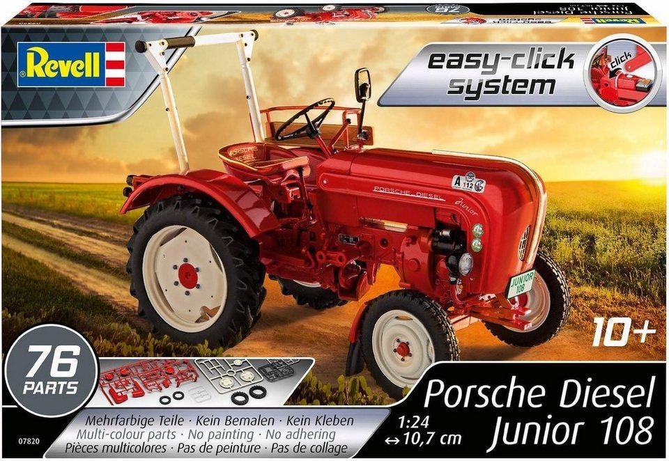 revell modellbausatz traktor porsche junior 108 otto. Black Bedroom Furniture Sets. Home Design Ideas