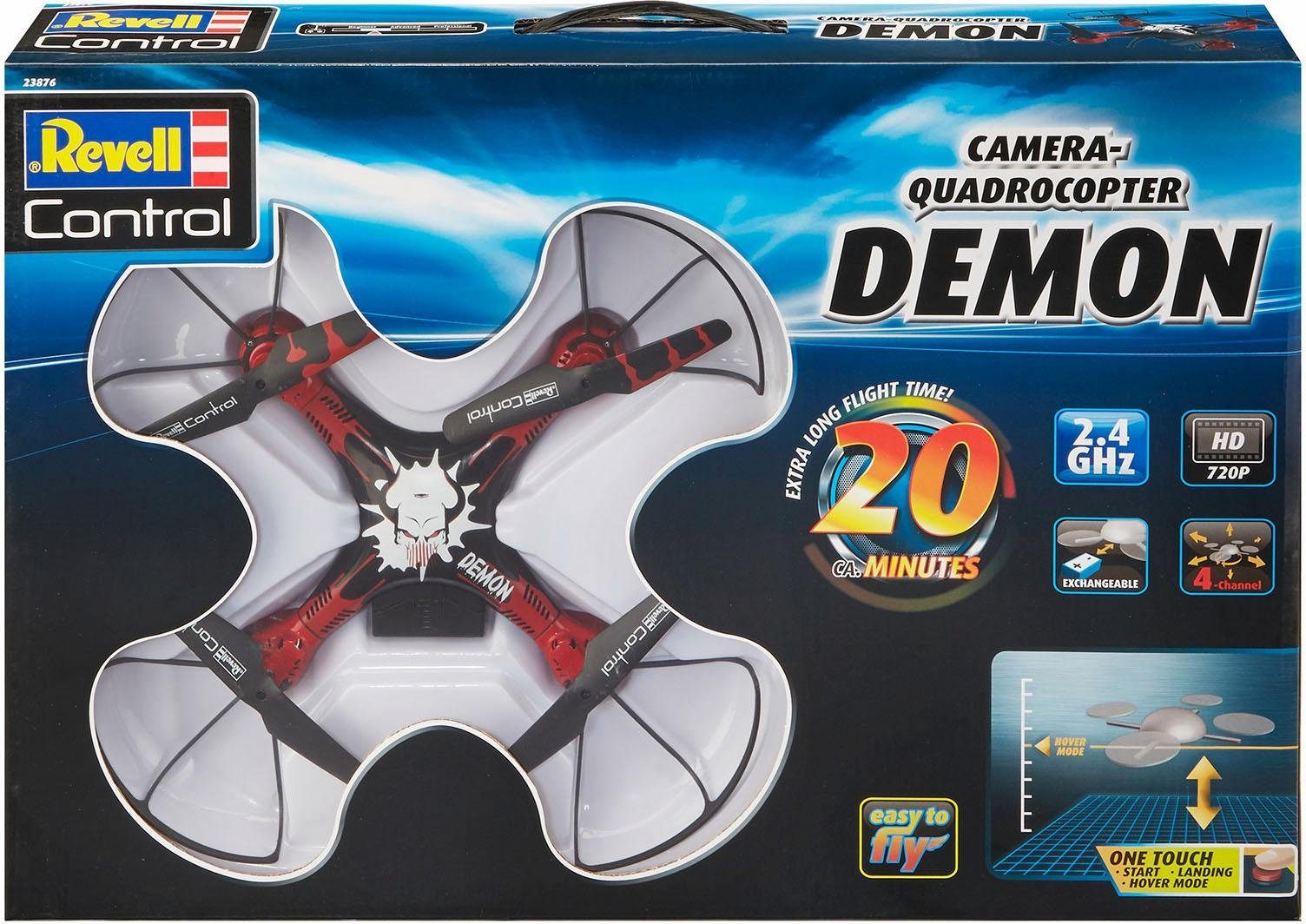 Revell RC Quadrocopter mit Kamera, »Revell® control, Demon, 2,4 GHz«