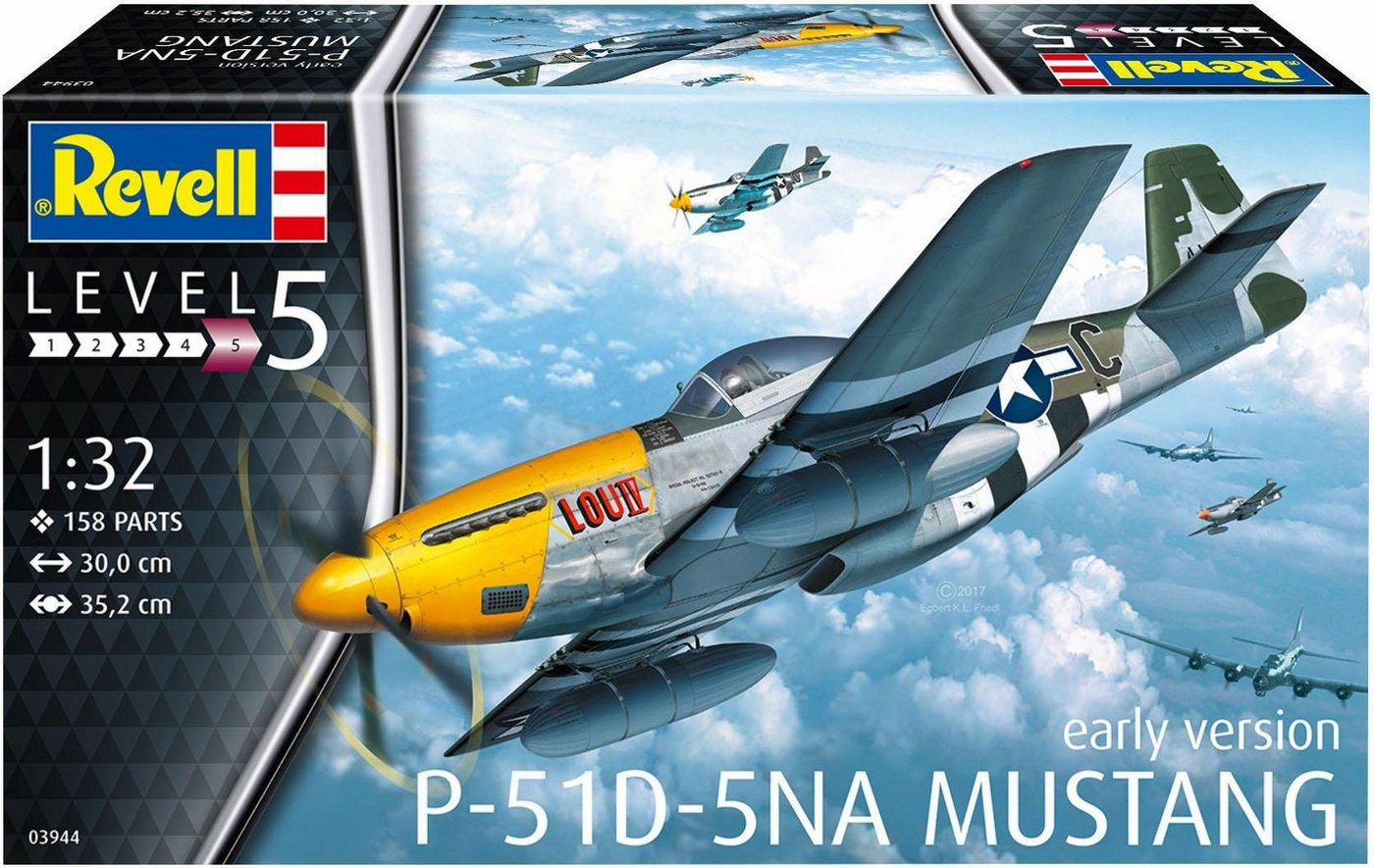 Revell Modellbausatz Flugzeug, »P-51D Mustang«
