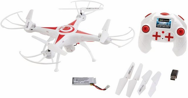 Empfehlung: RC Drohne mit Kamera: Revell® control, Go! Video  von Revell®*