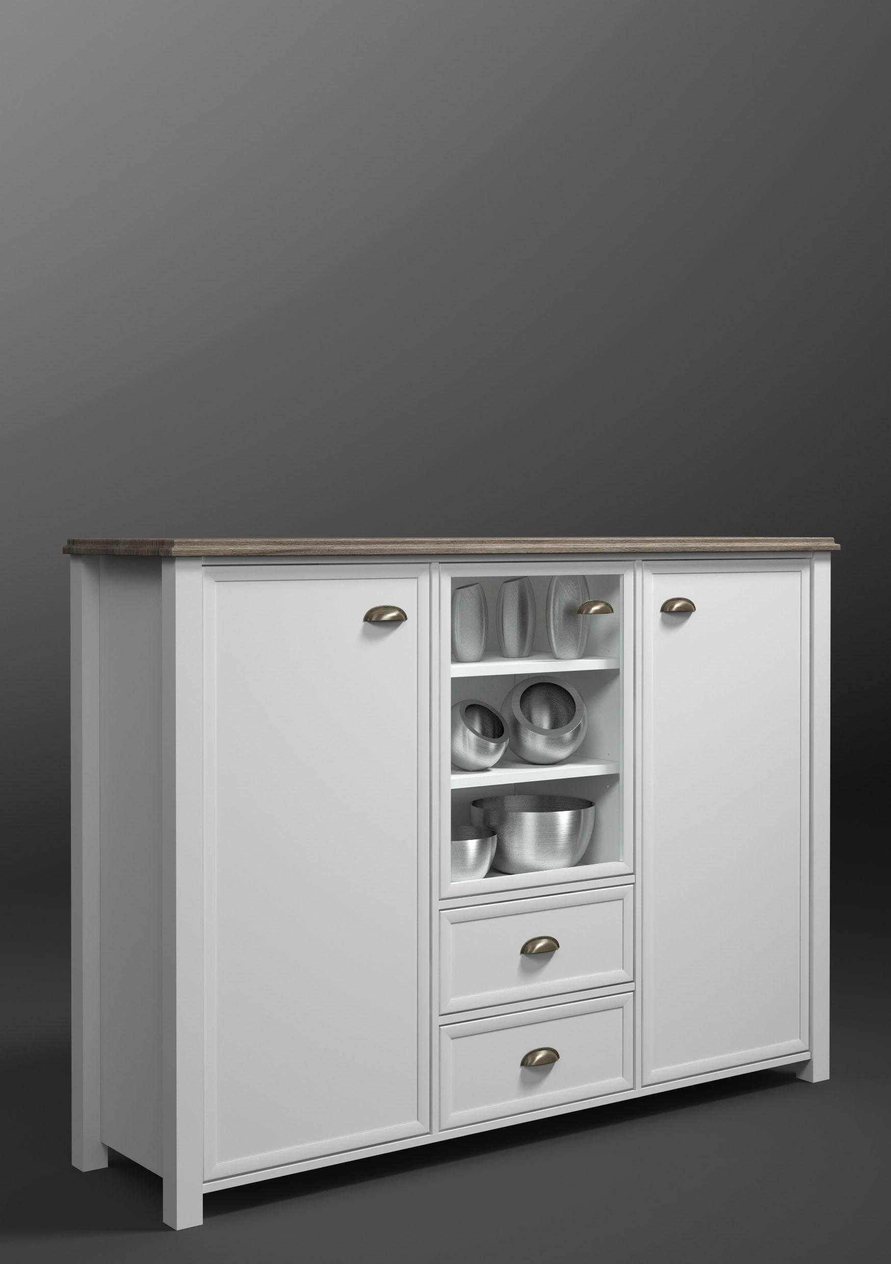 Home affaire Highboard »Chateau«, Breite 159 cm