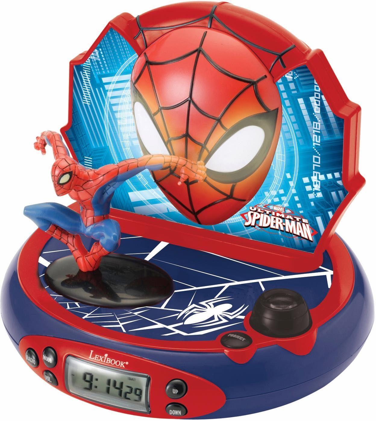 Lexibook, Radiowecker mit Projektion, »Spider-Man«