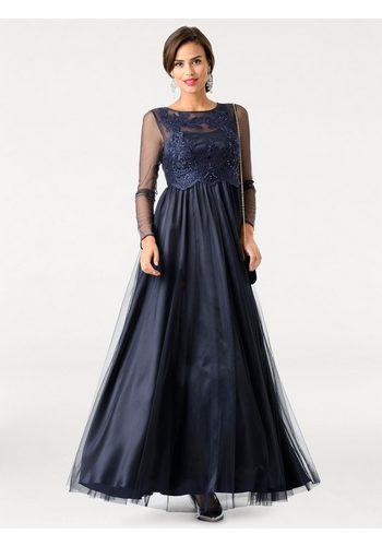 Damen heine TIMELESS Abendkleid mit Petticoat blau | 04895150946065
