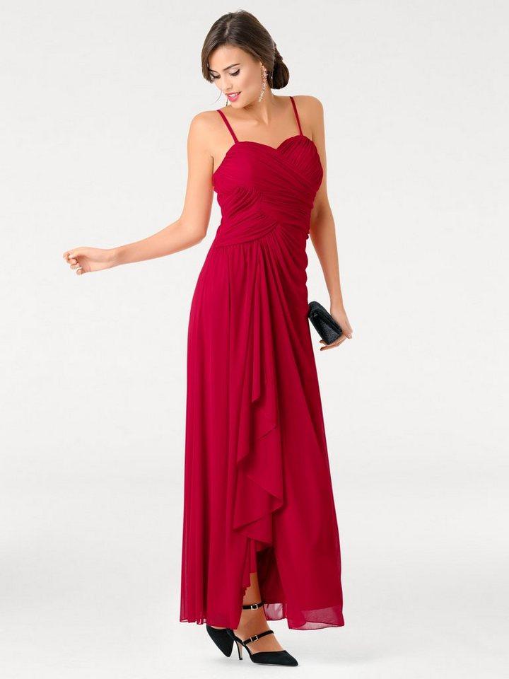 heine abendkleider lang rot  beliebte kurze kleider