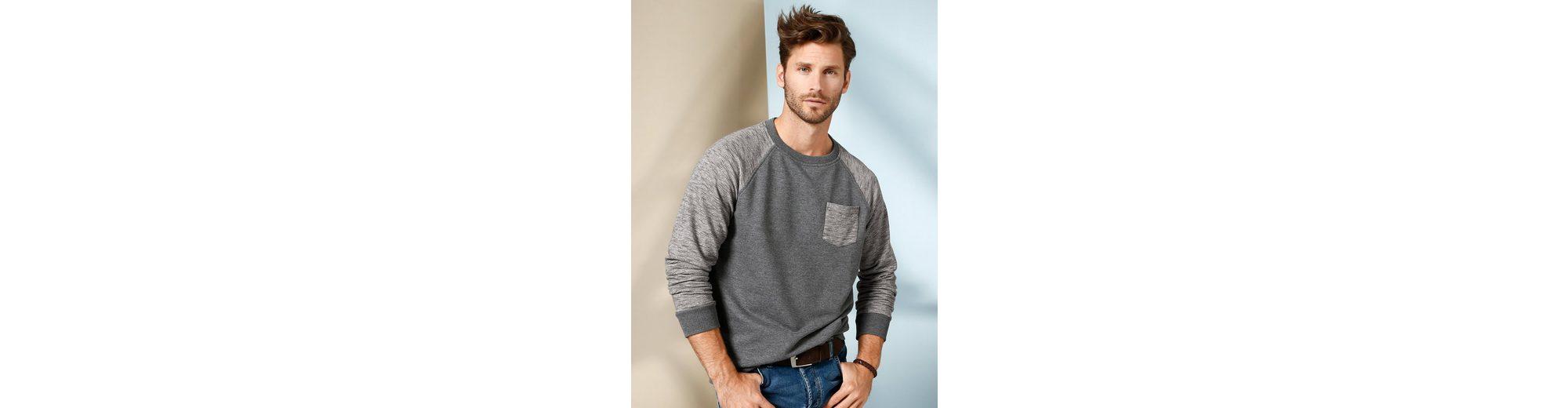 Babista Sweatshirt mit Flammgarn-Optik Sneakernews Verkauf Online Freies Verschiffen Großhandelspreis Bester Lieferant mtl94d72B