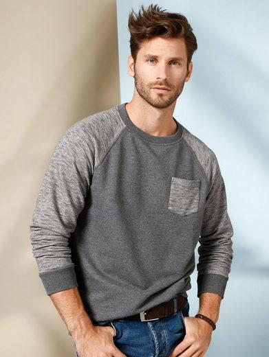 Babista Sweatshirt With Slub-optics