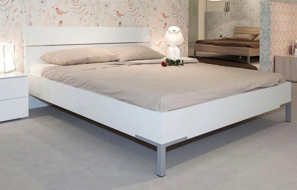 Composad Bett 180 x 200 cm Hochglanz weiss »PRIVILEGIO« online kaufen | OTTO