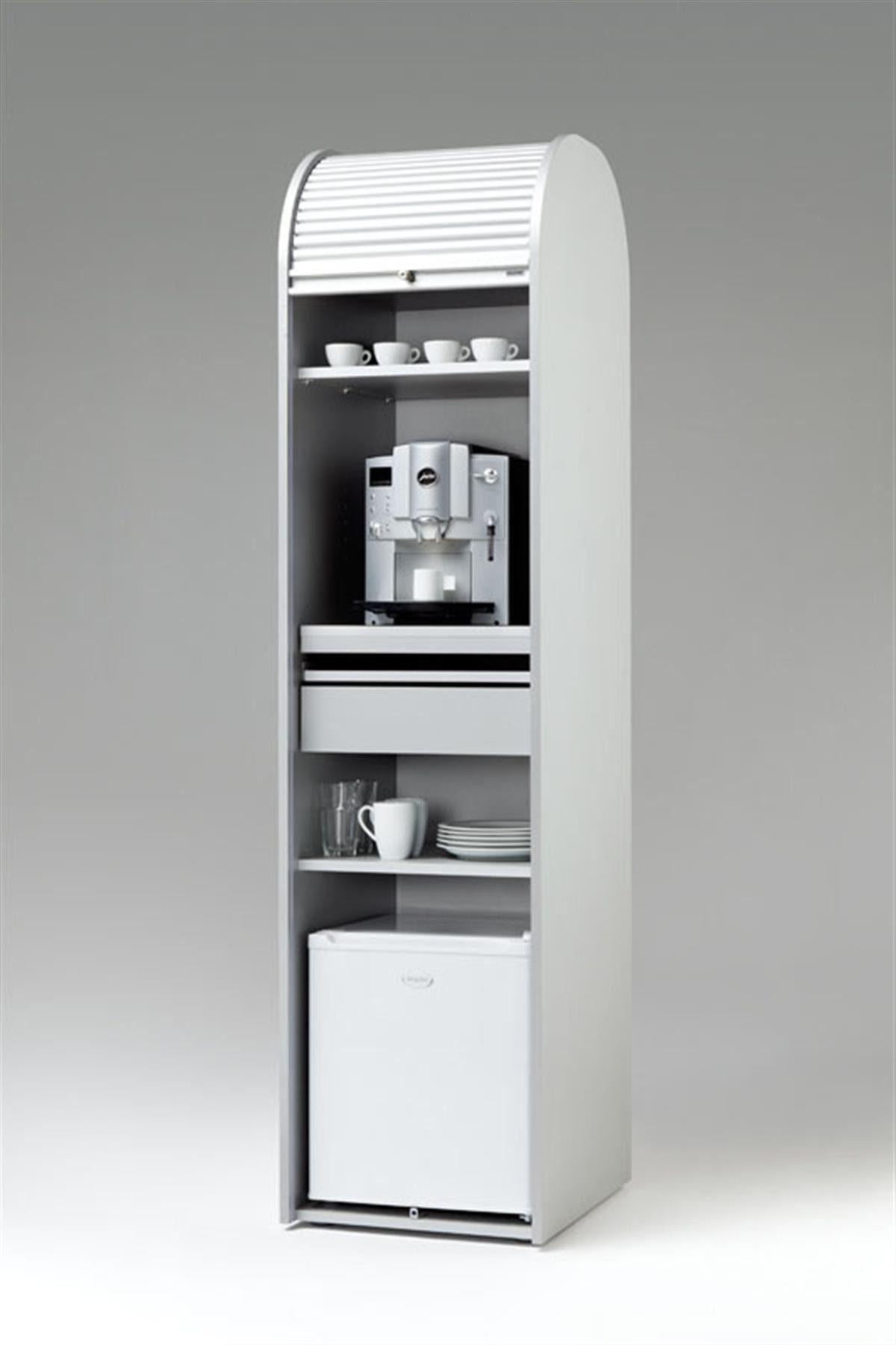 MS-Schuon Rolladenschrank Kaffeeschrank optional mit Kühlschrank »KLENK COLLECTION«