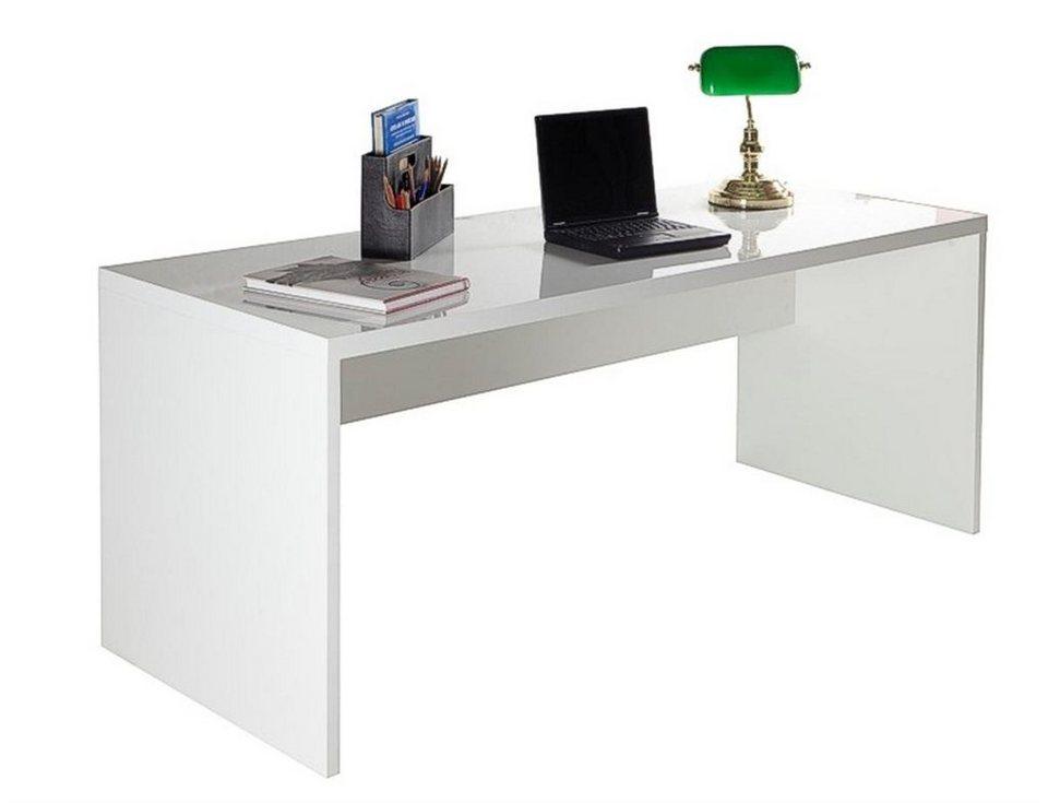 Schreibtisch Hochglanz