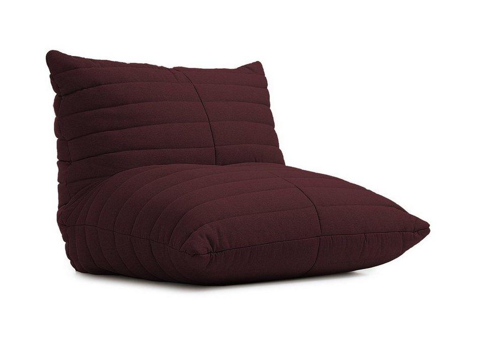 kasper wohndesign sessel stoff canvas versch farben loge. Black Bedroom Furniture Sets. Home Design Ideas