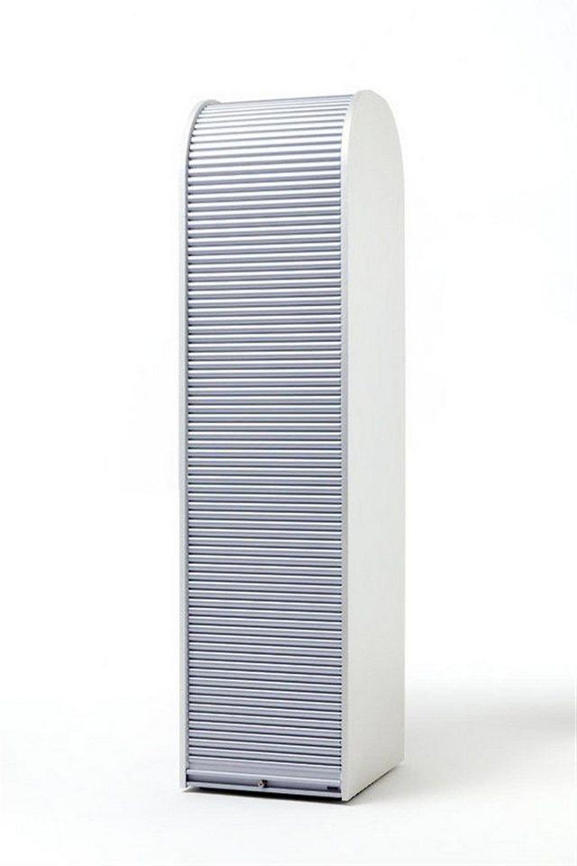 MS-Schuon Rolladenschrank Hochschrank mit 4 Fachböden, abschließbar ...