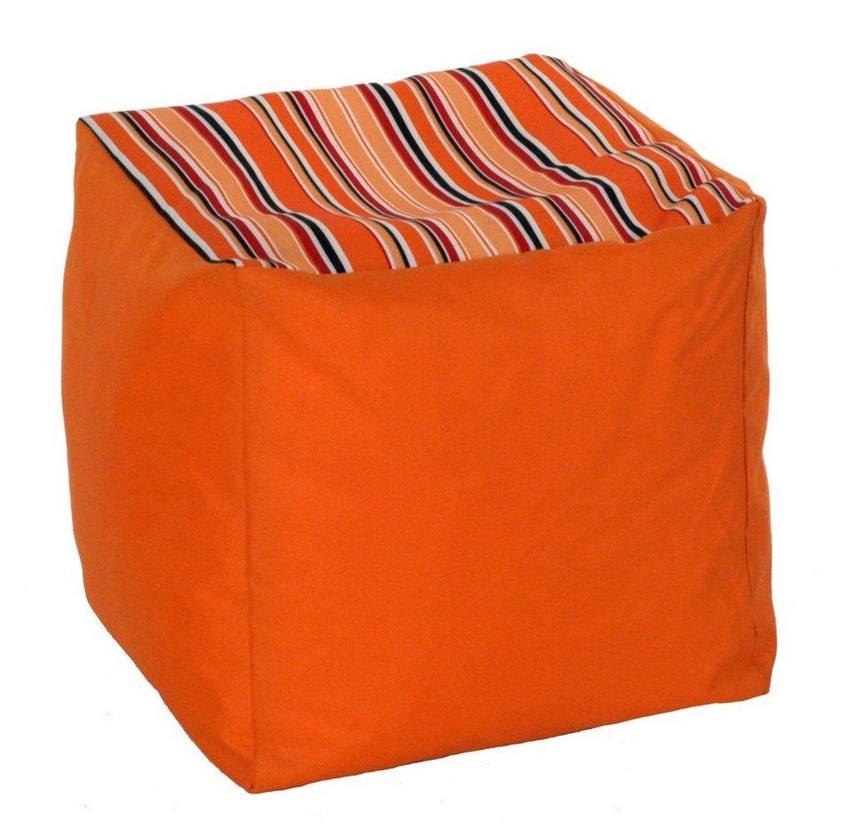 Kasper Wohndesign: Kasper-Wohndesign Sitzsack Cube »CHOISE« Kaufen