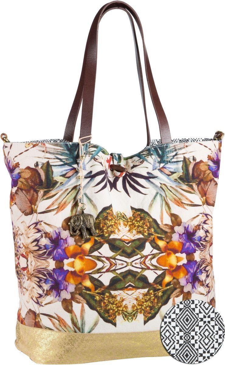 Anokhi Handtasche »Shopper Canvas«
